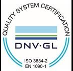 DNV GL Certificate