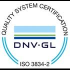 DNV GL EN 3834-2 Certificate