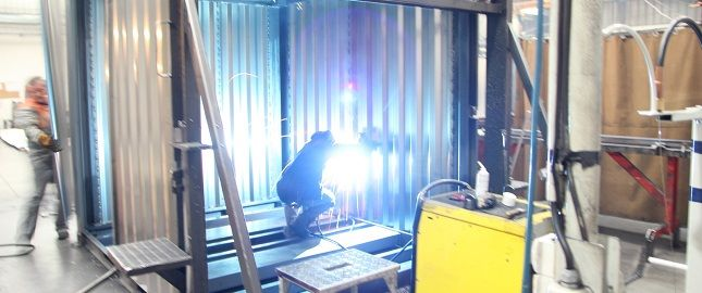 Lagercontainer Assembling SK-CONT