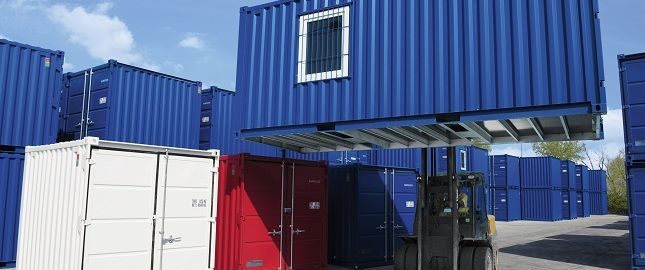 Lagercontainer Verladung SK-CONT